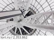 Металлические конструкции. Стоковое фото, фотограф Камалетдинов Ринат Хусаенович / Фотобанк Лори