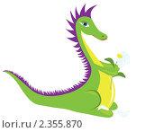 Купить «Дракон», иллюстрация № 2355870 (c) Ирина Кротова / Фотобанк Лори