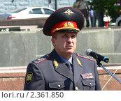 Министр МВД Бурятии В.Л. Сюсюра (2008 год). Редакционное фото, фотограф Дина Мальцева / Фотобанк Лори