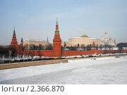 Купить «Москва. Вид на Кремль», эксклюзивное фото № 2366870, снято 20 февраля 2011 г. (c) lana1501 / Фотобанк Лори