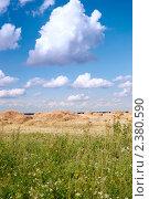 Купить «Летний пейзаж», фото № 2380590, снято 22 августа 2008 г. (c) Татьяна Белова / Фотобанк Лори