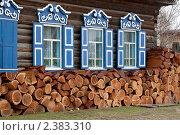Купить «Дом в Усть-Баргузине», фото № 2383310, снято 2 июня 2006 г. (c) Вадим Морозов / Фотобанк Лори