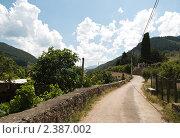 Купить «Сельский вид Северной Испании», фото № 2387002, снято 1 июля 2009 г. (c) Elena Monakhova / Фотобанк Лори