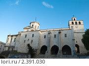 Кафедральный собор Успение Богородицы Сантандера (2009 год). Стоковое фото, фотограф Elena Monakhova / Фотобанк Лори