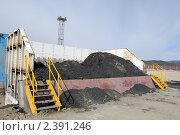Купить «Добыча угля. Тугнуй, Бурятия», фото № 2391246, снято 2 апреля 2008 г. (c) Александр Подшивалов / Фотобанк Лори