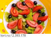 Свежее овощное блюдо. Стоковое фото, фотограф Камалетдинов Ринат Хусаенович / Фотобанк Лори