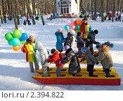 Купить «Проводы русской зимы в Рязани», фото № 2394822, снято 6 марта 2011 г. (c) Инна Грязнова / Фотобанк Лори