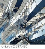 Архитектурная абстракция, иллюстрация № 2397486 (c) Юрий Бельмесов / Фотобанк Лори