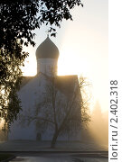 Церковь в Великом Новгороде. Стоковое фото, фотограф юлия юрочка / Фотобанк Лори
