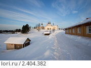 Вид на монастырь в Ферапонтово (2011 год). Стоковое фото, фотограф Валерий Пчелинцев / Фотобанк Лори