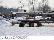 Тележка. Стоковое фото, фотограф Иван Носов / Фотобанк Лори