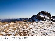 Горы. Стоковое фото, фотограф Алексей Цыганко / Фотобанк Лори