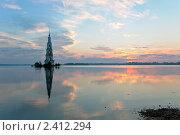 Купить «Затонувшая колокольня в Калязине», фото № 2412294, снято 17 июля 2010 г. (c) Анастасия Золотницкая / Фотобанк Лори