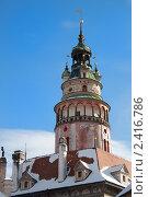 Башня на фоне неба. Стоковое фото, фотограф Иван Демьянов / Фотобанк Лори