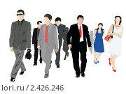 Купить «Толпа», иллюстрация № 2426246 (c) Дмитрий Верещагин / Фотобанк Лори