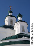 Церковь Троицы Живоначальной в Частоостровском (2011 год). Стоковое фото, фотограф Юрий Андреев / Фотобанк Лори
