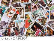 Купить «Почтовые марки разных стран мира», фото № 2426954, снято 15 октября 2010 г. (c) Pshenichka / Фотобанк Лори