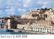 Купить «Вид с моря на Валетту, Мальта», фото № 2430898, снято 16 декабря 2010 г. (c) Яков Филимонов / Фотобанк Лори