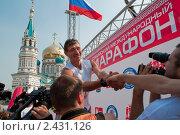 На финише (2010 год). Редакционное фото, фотограф Матвеев Артём / Фотобанк Лори