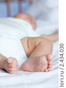 Спящий малыш. Стоковое фото, фотограф Михеев Павел / Фотобанк Лори