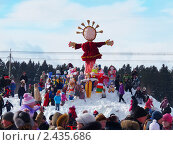 Купить «Масленица», эксклюзивное фото № 2435686, снято 9 февраля 2018 г. (c) Володина Ольга / Фотобанк Лори