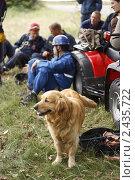Кинологи МЧС с собаками. Редакционное фото, фотограф Кира Малиновская / Фотобанк Лори