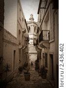 Купить «Ретро-фото старых улиц. Валетта», фото № 2436402, снято 15 декабря 2010 г. (c) Яков Филимонов / Фотобанк Лори