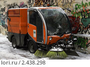 Старый Арбат зимой (2011 год). Стоковое фото, фотограф Петр Бюнау / Фотобанк Лори