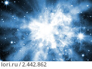 Сверхновая звезда. Стоковая иллюстрация, иллюстратор Карелин Д.А. / Фотобанк Лори
