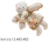 Купить «Тряпочная фигурка ангела», фото № 2443482, снято 20 февраля 2011 г. (c) Сергей Дубров / Фотобанк Лори
