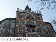 Дом на Сретенском бульваре. Москва (2011 год). Стоковое фото, фотограф E. O. / Фотобанк Лори