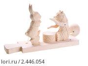 Купить «Традиционная русская Богородская игрушка», фото № 2446054, снято 18 марта 2011 г. (c) Paleka / Фотобанк Лори