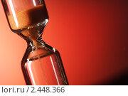 Купить «Песочные часы», фото № 2448366, снято 5 марта 2008 г. (c) Чепко Данил / Фотобанк Лори