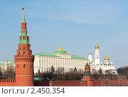 Кремлевская набережная. Москва (2011 год). Стоковое фото, фотограф E. O. / Фотобанк Лори