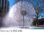 Купить «Фонтан Эль Аламейн в Сиднее», фото № 2450446, снято 17 августа 2010 г. (c) Elena Monakhova / Фотобанк Лори
