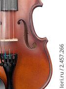 Купить «Скрипка», фото № 2457266, снято 27 февраля 2011 г. (c) Максим Лоскутников / Фотобанк Лори