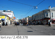 Купить «Москва. Замоскворечье. Пятницкая улица», эксклюзивное фото № 2458378, снято 1 апреля 2010 г. (c) lana1501 / Фотобанк Лори