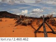 Облака и пустыня. Стоковое фото, фотограф Вероника Горбова / Фотобанк Лори
