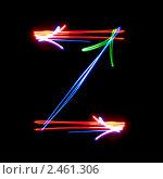 Английская буква Z. Стоковое фото, фотограф Олег Кириллов / Фотобанк Лори