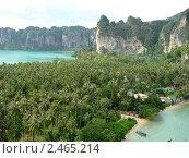 Пляж Рей лай, Краби, Тайланд (2006 год). Стоковое фото, фотограф Баранов Александр / Фотобанк Лори