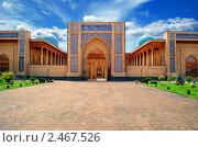 Купить «Мечеть комплекса Хазрат Имам. Ташкент, Узбекистан», фото № 2467526, снято 17 июля 2010 г. (c) Алексей Сергеев / Фотобанк Лори