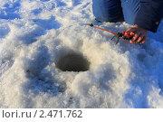 Купить «Идет клев», эксклюзивное фото № 2471762, снято 15 января 2011 г. (c) Анатолий Матвейчук / Фотобанк Лори