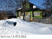 Припарковался до весны. Стоковое фото, фотограф Серкова Татьяна / Фотобанк Лори