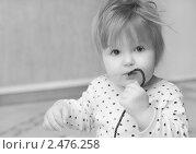 Купить «Портрет девочки», фото № 2476258, снято 1 марта 2011 г. (c) Елена Вяселева / Фотобанк Лори