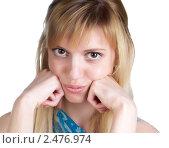 Купить «Портрет девушки», фото № 2476974, снято 7 марта 2011 г. (c) Черников Роман / Фотобанк Лори