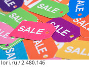 Купить «Большая распродажа», фото № 2480146, снято 19 января 2019 г. (c) Allika / Фотобанк Лори