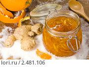 Купить «Варенье из апельсиновых корочек с имбирём», эксклюзивное фото № 2481106, снято 9 апреля 2011 г. (c) Давид Мзареулян / Фотобанк Лори
