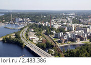 Купить «Вид на Тампере со смотровой башни», фото № 2483386, снято 6 августа 2009 г. (c) Андрей Ерофеев / Фотобанк Лори