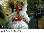 Сувенирная маска, Румыния. Стоковое фото, фотограф Григорий Головин / Фотобанк Лори