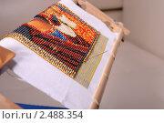 Купить «Вышитая бисером картина», фото № 2488354, снято 19 августа 2018 г. (c) Corwin / Фотобанк Лори